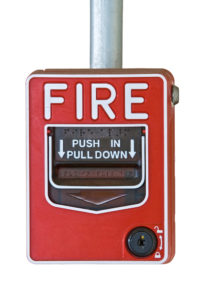 Fire alarm switcher